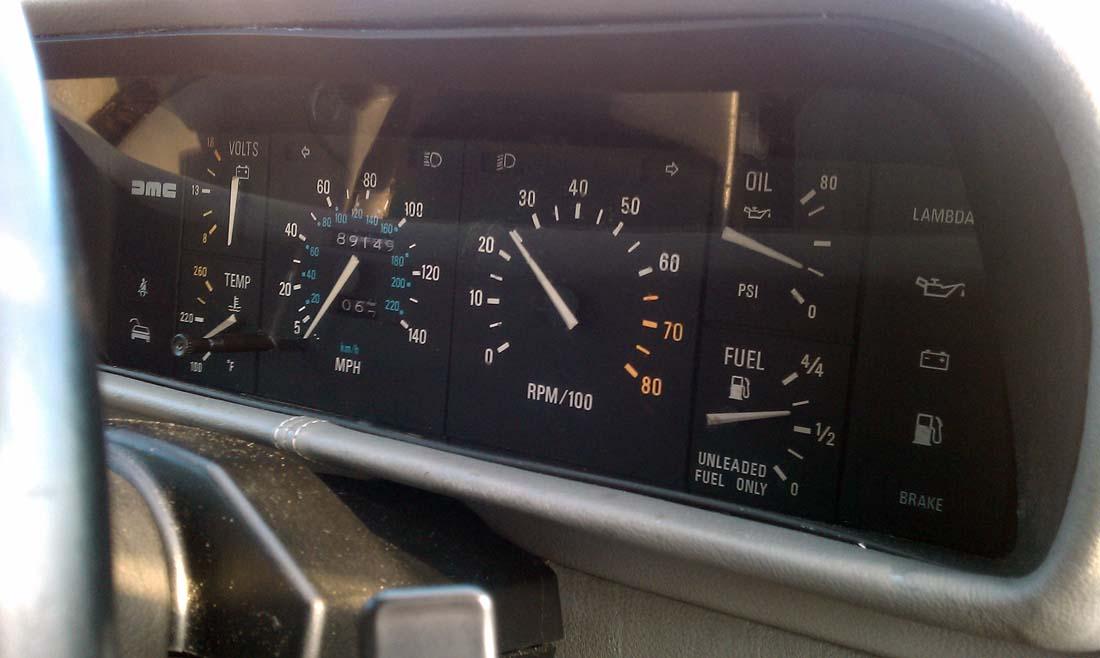 Windshield Wiper Motor >> 1981 DeLorean DMC-12 For Sale
